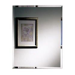 Jensen 1459 Horizon Frameless Single-Door Recessed Medicine Cabinet
