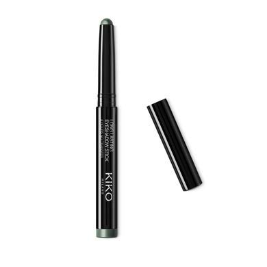 KIKO MILANO - Long Lasting Eyeshadow Stick - New Extreme Hold | 8 Hours Hold Pigmented Eyeshadow | Cruelty Free Eye Shadow | Made in Italy (48 Forest Green)