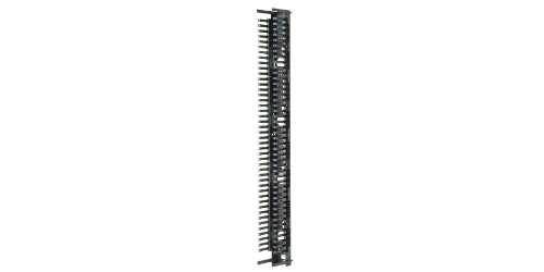 Panduit PRVF8 Vertical Cable Manager, Black