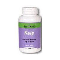 Thompson Herbs - Kelp 200 tablets (a) - 2PC - 3PC (Kelp Thompson)