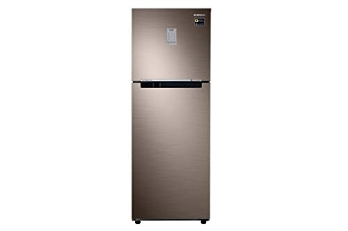 Samsung 253 L 2 Star Frost-Free Double-Door Refrigerator (RT28R3722DX/HL, LUXE Brown)
