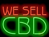 We Sell CBD Neon Sign