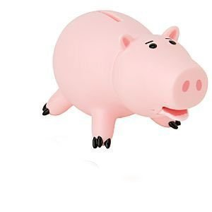 Disney Educational Products - Disney Toy Story Hamm Piggy Bank Action Figure - 6'' - Hamm Bank figure