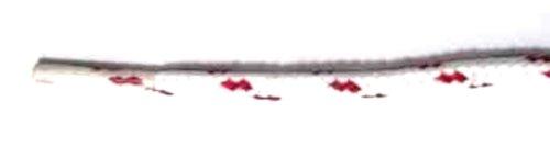 Lacets Ronds Footgalaxy Pour Bottes Et Chaussures White-redchip