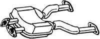 (Bosal Center Muffler for 1990 - 1996 Nissan 300ZX)