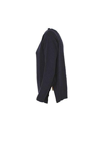 Maglia Donna Kaos XL Blu Hijfp039 Autunno Inverno 2017/18