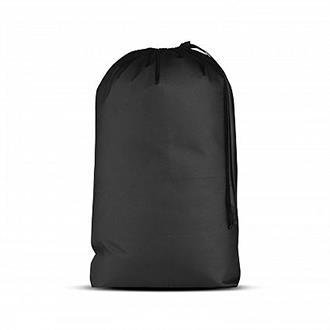(Essentials Large Pocket Non-Woven Drawstring Laundry Bags Back to School College Laundromat Household Storage Dormitory Sporting Goods, Toys, and more! - Black 28