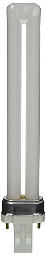 Sylvania 21134 Compact Fluorescent 2 Pin Single Tube 4100K, (Magnetic 2 Pin Compact)