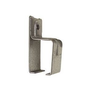 Box Rail Bracket Single Galvanized For Barn Doors