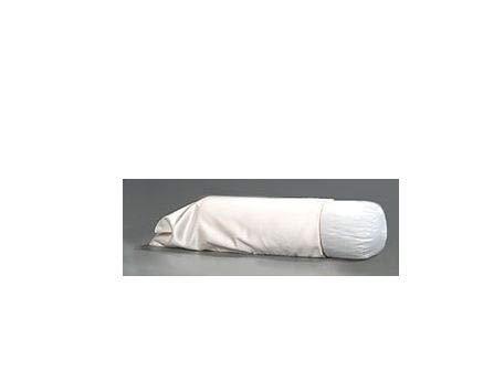 Jobri - Cotton Body Pillow Case - Ecru - 65 inch Length