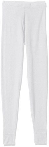 (Hanes Plus Size Women's Ultimate Thermal Pant, White, Medium)