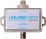 ground-loop-isolator-for-cable-tv-applications-with-surge-protection