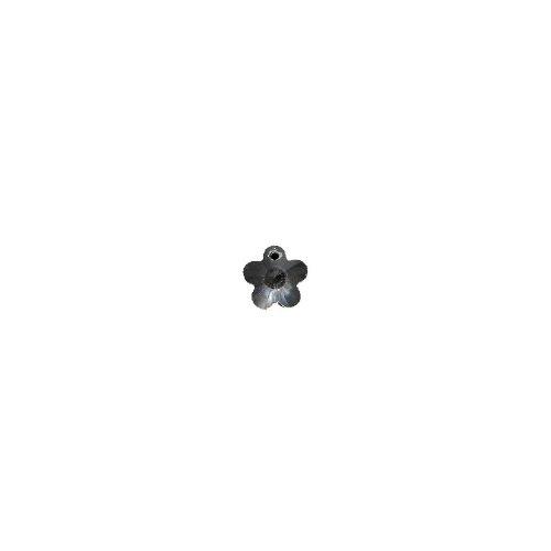 (SWAROVSKI ELEMENTS 6744 Five Petal Flower Beads, Transparent, Crystal, 12mm, 6 Per Pack)