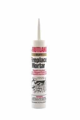 Rutland Fireplace Mortar Silicate Mortar 2000 Deg F Buff 103 Oz