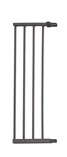 MidWest Steel Pet Gate Extension; Pet Gate Extension Measures 11 Wide x 39 High in Textured Graphite (Fits MW Model # 2939SG & 2939SG-WD)