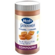 Hero Caramel Compound, 1.25 Kilogram -- 6 per case. by Hero