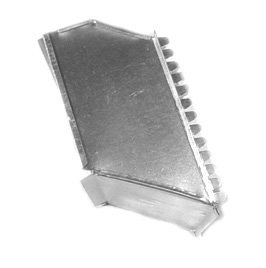 Midwest Ducts Offset Starting Collar - 16 x 8 Inches - Ducting