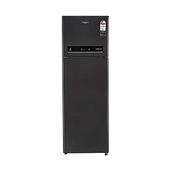 Whirlpool 265 L 3 Star Inverter Frost-Free Double Door Refrigerator (IF INV CNV 278 STEEL ONYX (3s)-N, Black) 2021 August Frost-free refrigerator; 265 litres capacity Energy Rating: 3 Star Warranty: 1 year on product, 10 years on compressor