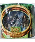 Lord of the Rings The Fellowship of the Ring Frodo & Samwise Gamgee with Elven Boat