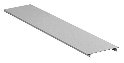 Hubbell HBL4750CGY Raceway, 5' Cover, HBL4750 Series, Gray (Pack of 50)