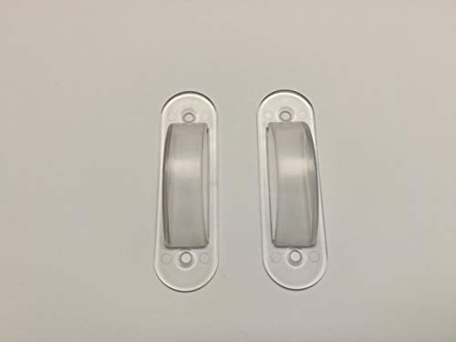 Clear Switch Plate Cover Guard Keeps Light Switch ON or Off Protects Your Lights or Circuits from Accidentally Being Turned on or Off. (2 Pack)