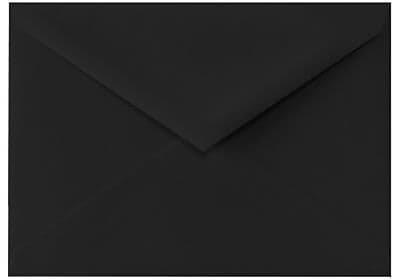 Lux 4 Bar Envelopes (3 5/8 x 5 1/8) 50/Box, Midnight Black (4BAR-B-50) Black by Lux (Image #1)