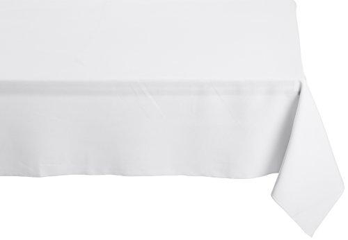 LA Linen Polyester Poplin Rectangular Tablecloth, 60 x 90, - 90 Inch Tablecloth