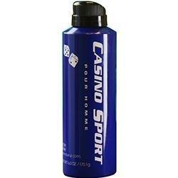 Casino Sport By Casino Parfums Body Spray 6 Oz ()