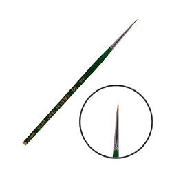 アメリカンクラフトライフ クラフト筆 シリーズ6000EX 丸筆 #3/0
