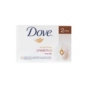 Dove Supreme Cream Oil Fine Silk Soap 2 X 100Gm