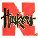 NCAA Nebraska Cornhuskers Logo Pin