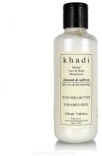 khadi Natural Herbal Face & Body Moisturizer - Almond & S...