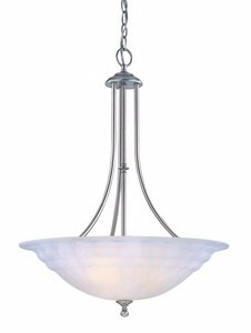 Dolan Designs Satin Pendant - Dolan Designs 669-09 Richland 3 Light Pendant, Satin Nickel