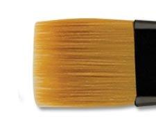 Brush Rake (Creative Mark Beste Golden Taklon Hair Paint Brush Used For Any Watermedia, Acrylics, Watercolor, Oils, Fine Art, Heavy Bodied Media - Single Brush - [Rake - 1/2