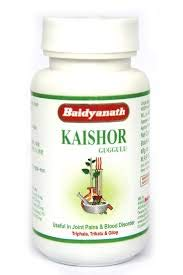 Buy Baidyanath Kaishore Guggulu -30 gm/80 Tablets - for gout (Vat Rakta)  and its complications -Pack of 2 Online at Low Prices in India - Amazon.in