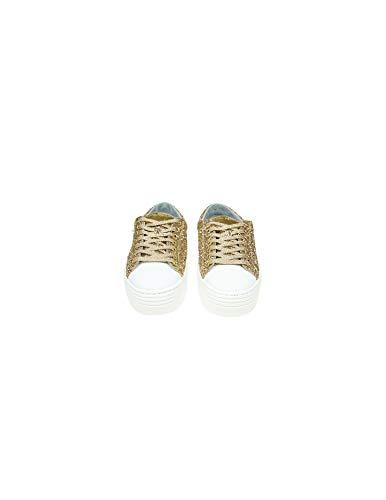 Oro Chiara Cf2080 Ferragni Mujer Zapatillas Purpurina tgp0Oq