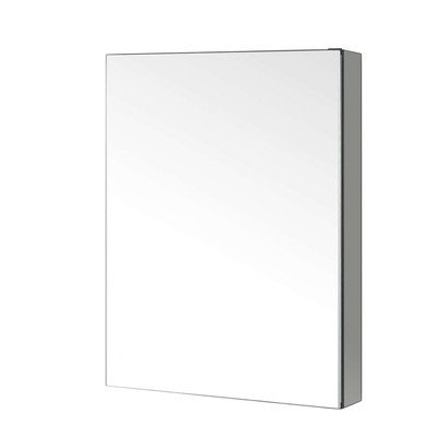 Virtu J-MED01A20 Confiant Mirrored Medicine Cabinet Recessed or Surface Mount, 20