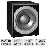 Infinity Subwoofers Best Deals - Infinity Primus PS410 10-Inch 300-Watt Powered Subwoofer (Black)