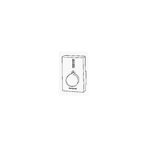 Honeywell CT62B1015 CT62B Electric Baseboard Thermostat, White