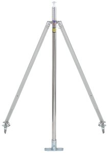 attwood Corporation Pylon 23-Inch Pole Height Ski Tow Ss Adj 2 X 4-Inch Base
