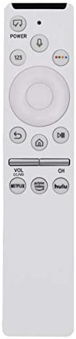 Replaced Voice Control Remote are compatible for Samsung Frame TV QN43LS03RA QN49LS03RA QN55LS03RA QN65LS03RA QN43LS03RAFXZA QN49LS03RAFXZA QN55LS03RAFXZA QN65LS03RAFXZA QE43LS03RAUXXU QE49LS03RAUXXU
