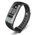 Fitness Tracker - Waterproof Smart Bracelet - Heart rate Blood pressure Sleep Health monitor - Bluetooth connection Mobile phone compatible ios or Android Sports Watch (Black)