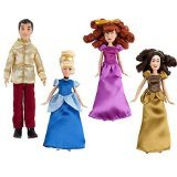 Disney Princess Exclusive Cinderella Mini Doll Set]()