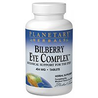 Bilberry Eye Complex, 60 Tabs by Planetary Herbals (Pack of 3) by Planetary Herbals