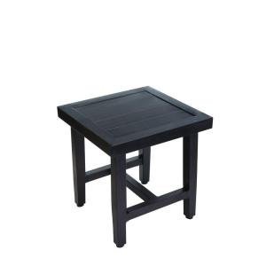 Hampton Bay Woodbury Patio Accent Table
