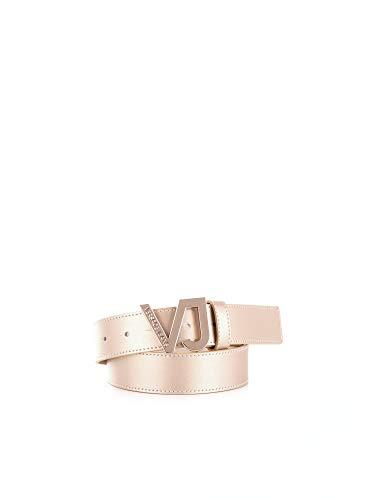 (Versace Jeans Women's D8htbf0570959 Gold Leather Belt)