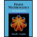 Finite Math with Calculus 2E, Zitarelli, David E. and Coughlin, Raymond F., 0030558492