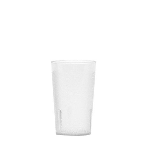 Colorware Clear Plastic Tumbler (Cambro 950PSW152 Colorware Tumbler, 9.5-Ounce, 6 pack Tumblers)