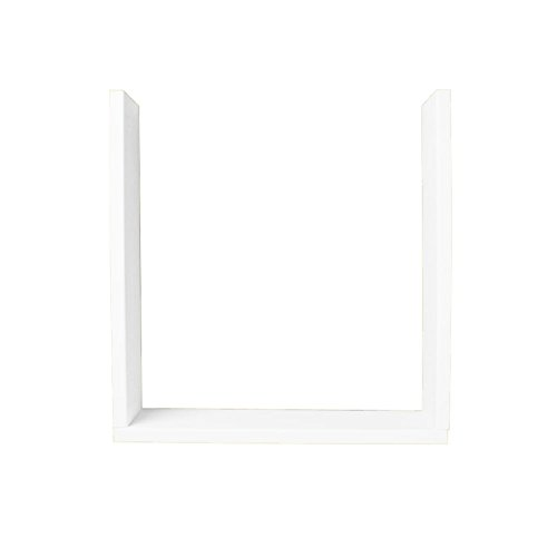 Swanstone TK03610.010 Solid Surface 3-Pieces Shower Trim Kit, 10-in L X 38-in H X 36-in H, White