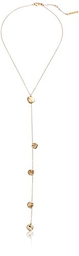 - 21AmqEXhYmL - H Halston Women's Y-Shaped Necklace, Shiny Gold, One Size